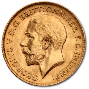 Half Sovereign George V | Gold | Mixed Years(Front)