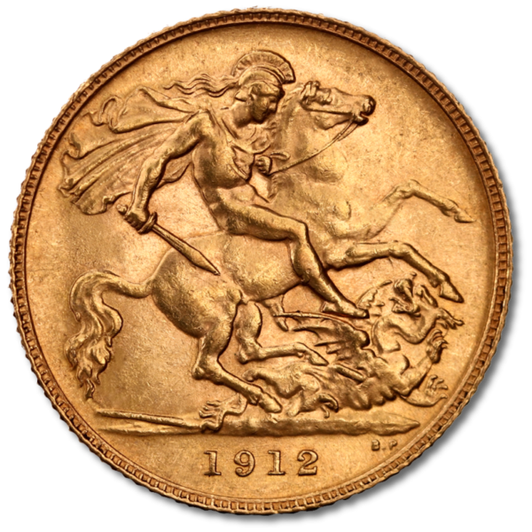 Half Sovereign George V | Gold | Mixed Years(Back)
