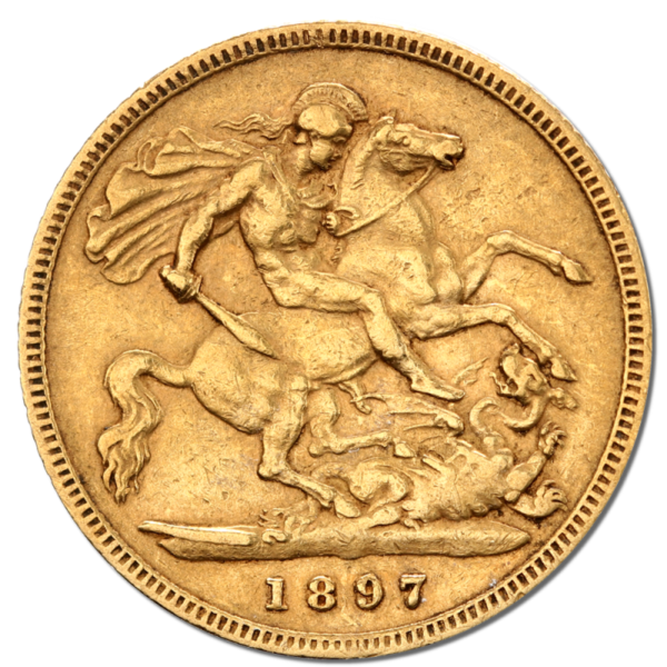 Half Sovereign Victoria Gold | Mixed Years(Back)