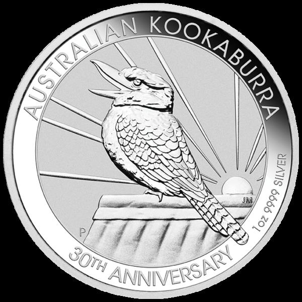 1 oz Kookaburra Silver Coin (2020)(Front)