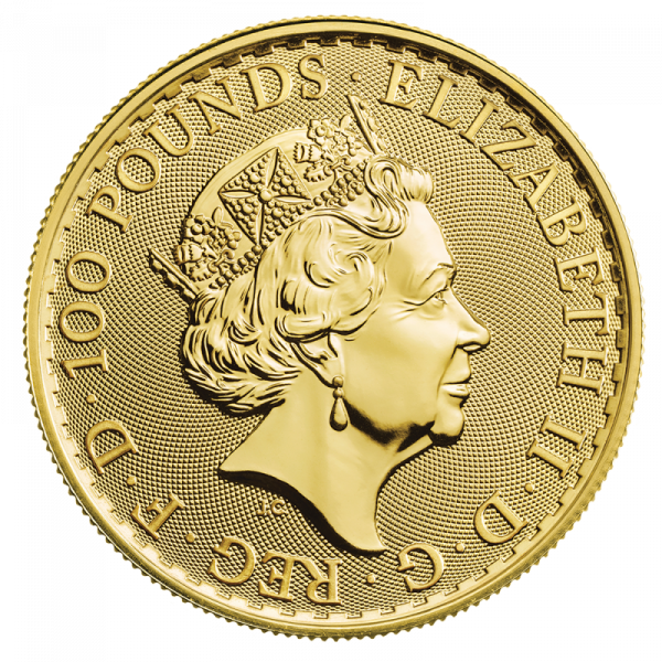 1 oz Britannia 2020 Gold Coin(Back)