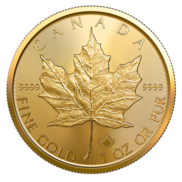 1 oz Maple Leaf 2020 Gold Coin(Front)