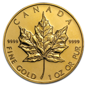 Maple Leaf, 1oz Gold, mixed years(Front)