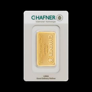 20g Hafner Gold Bar (C.Hafner)(Front)