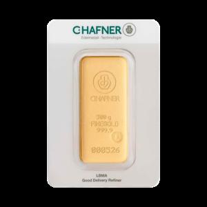 500g Hafner Gold Bar | C.Hafner(Front)