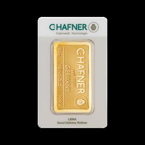 50g Hafner Gold Bar | C.Hafner(Front)