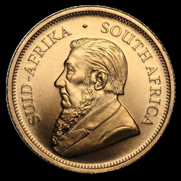 1/10 oz Krugerrand 2020 Gold Coin(Front)