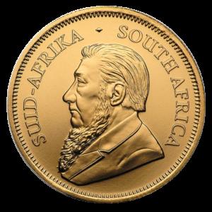 1/2 oz Krugerrand 2020 Gold Coin(Front)