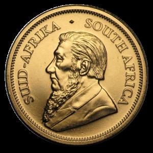 1/4 oz Krugerrand 2020 Gold Coin(Front)