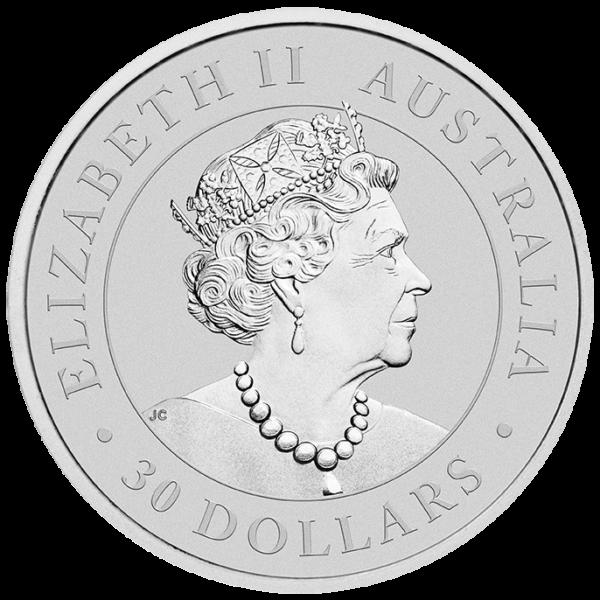 1 Kilo Koala Silver Coin (2020)(Back)