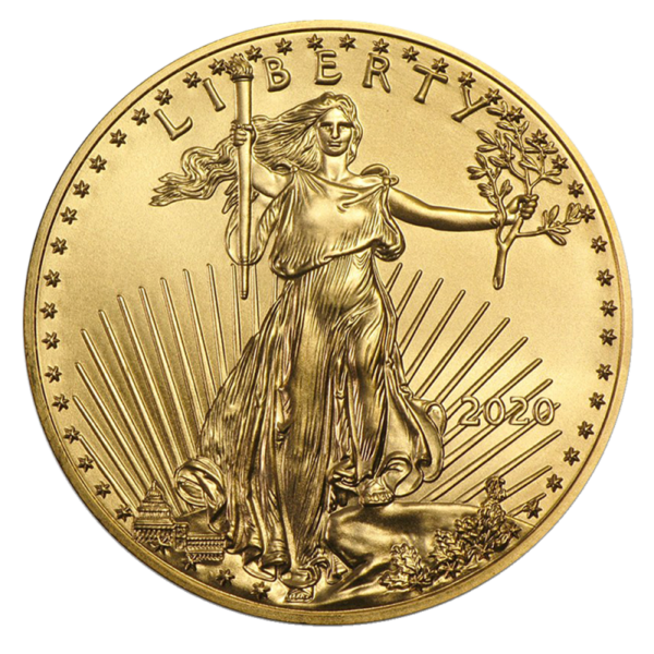 1 oz American Eagle Gold Coin 2020(Front)