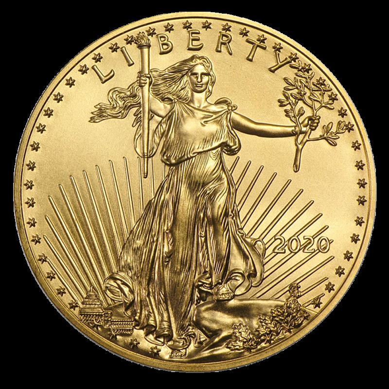 1 Oz American Eagle Gold Coin 2020