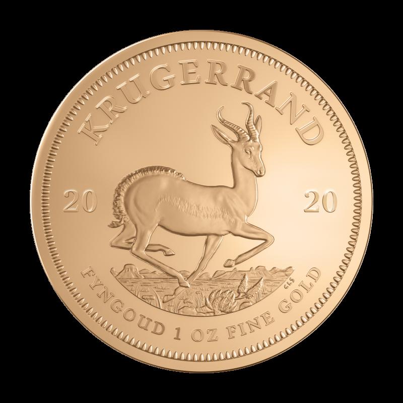 1 Oz Krugerrand 2020 Gold Coin Bitgild