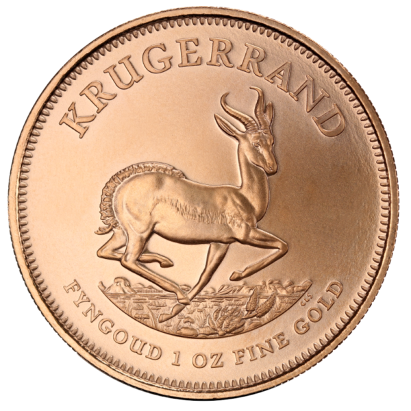 Krugerrand, 1oz Gold, mixed years(Front)