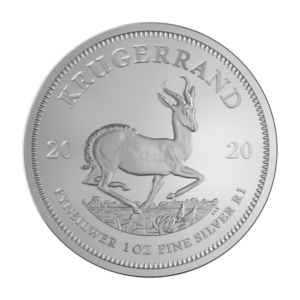 1 oz Krugerrand 2020 Silver Coin(Front)