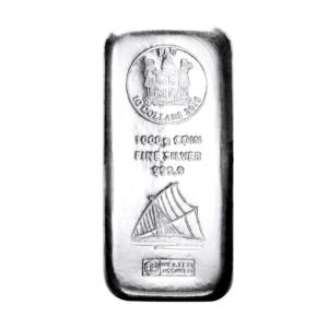 1 Kilo Fiji Coin Bar | Silver | Argor-Heraeus(Front)
