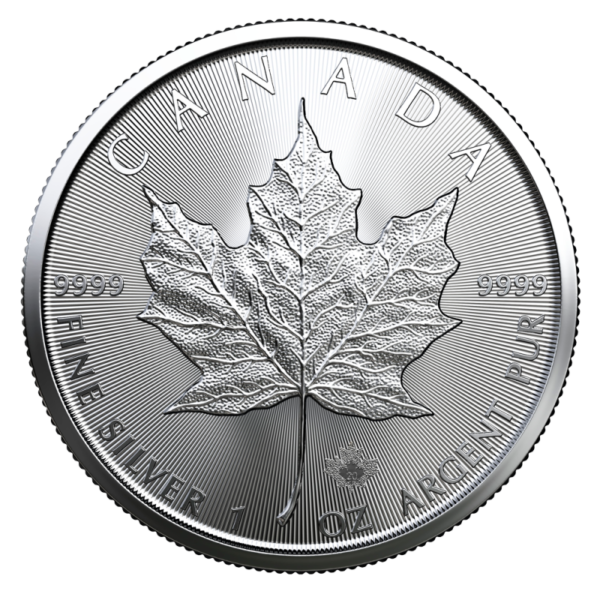 1 oz Silver Maple Leaf 2020 Coin(Front)
