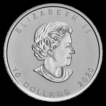 2 oz Canada Goose 2020 Silver Coin(Back)