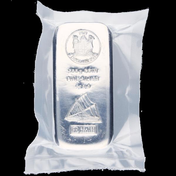 500g Fiji Coin Bar | Silver | Argor-Heraeus(Back)
