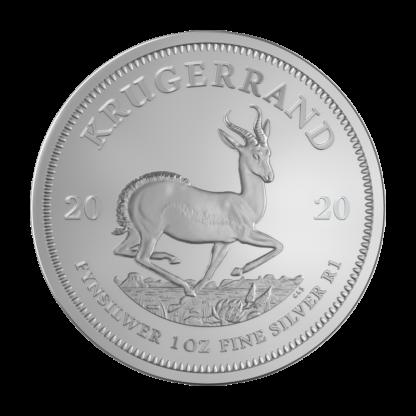1 oz Krugerrand 2020 Silver Coin(Front)