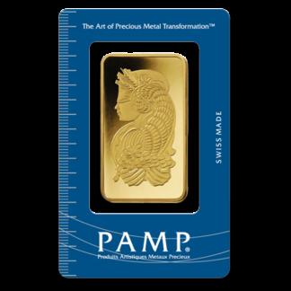 100g Gold Bullion   PAMP Suisse   Fortuna(Front)