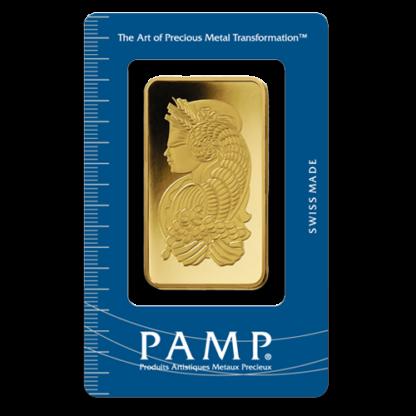 100g Gold Bullion | PAMP Suisse | Fortuna(Front)