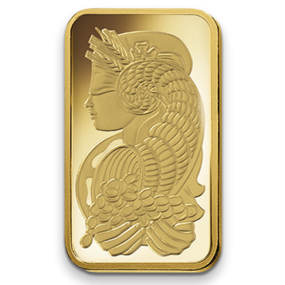 100g Gold Bullion | PAMP Suisse | Fortuna(Back)