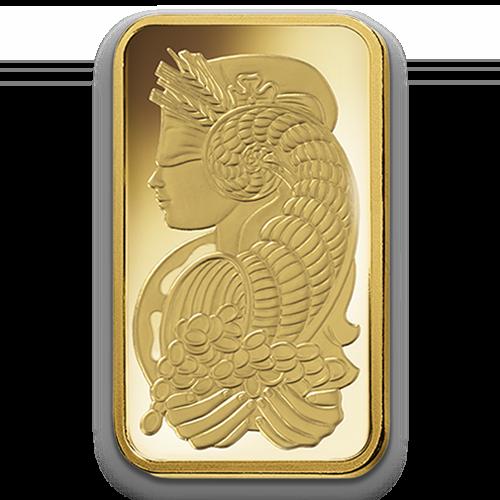 100g Gold Bullion   PAMP Suisse   Fortuna(Back)