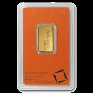 10g Gold Bar | Valcambi(Back)