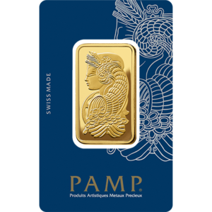 1 oz Gold Bar | PAMP Fortuna(Front)