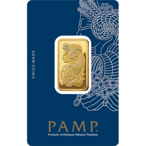 20g Gold Bar | PAMP Fortuna(Front)