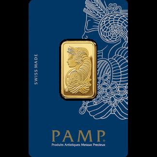 20g Gold Bar | PAMP Fortuna(Front)