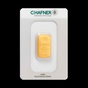 250g Hafner Gold Bar | C.Hafner(Front)