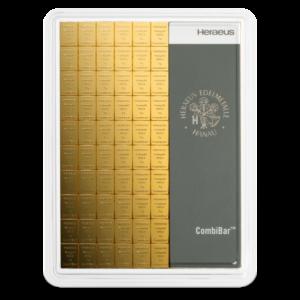 100 x 1g CombiBar® | Gold | Heraeus(Front)