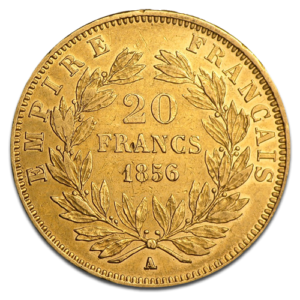 20 French Francs Gold Coin | Best Value(Front)