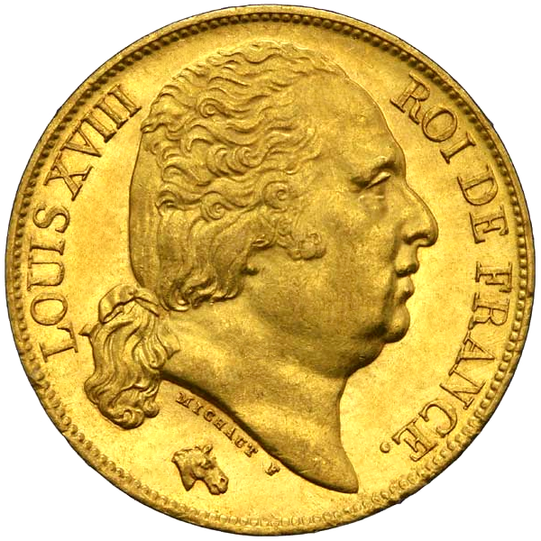 20 French Francs Gold Coin | Best Value(Back)