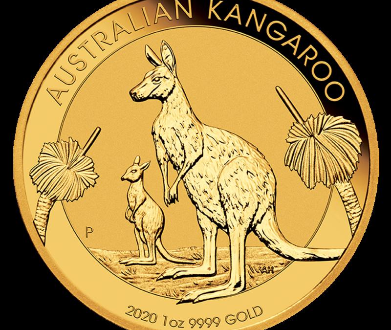 Australian 1 oz Gold Kangaroo / Nugget Coin BU (Random Yea…