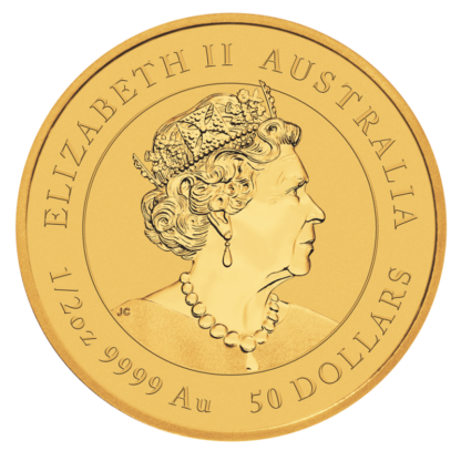1/2 oz Lunar III Ox Gold Coin (2021)(Back)