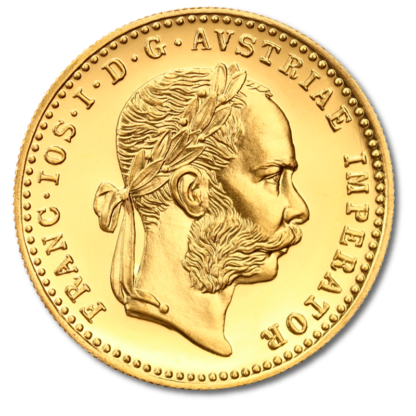 1 Ducat, Gold, New Edition(Front)