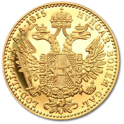 1 Ducat, Gold, New Edition(Back)