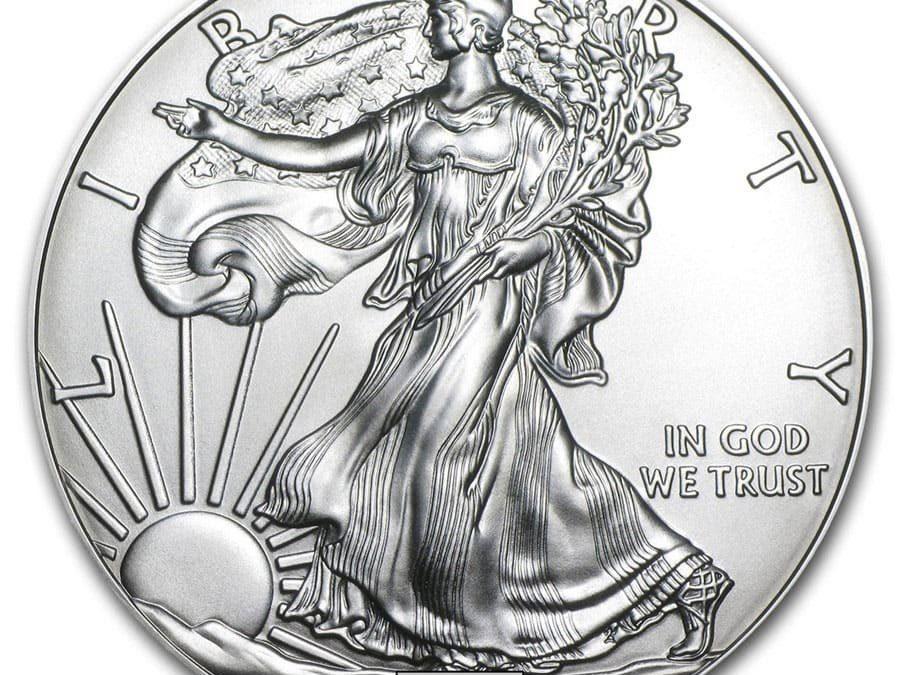 1 oz American Silver Eagle BU (Random Year)