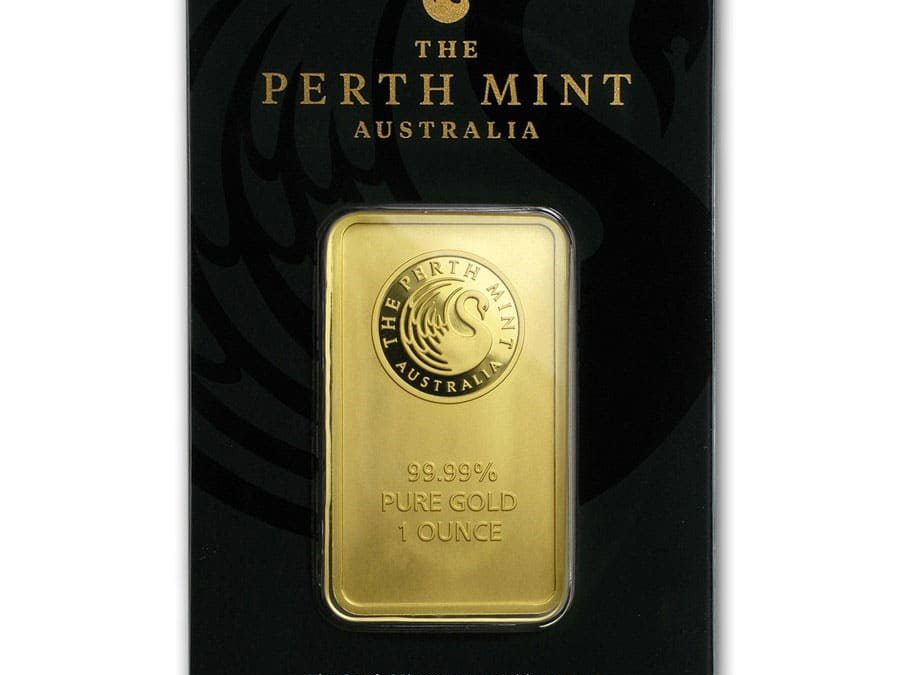 1 oz Perth Mint Gold Bar (In Assay)
