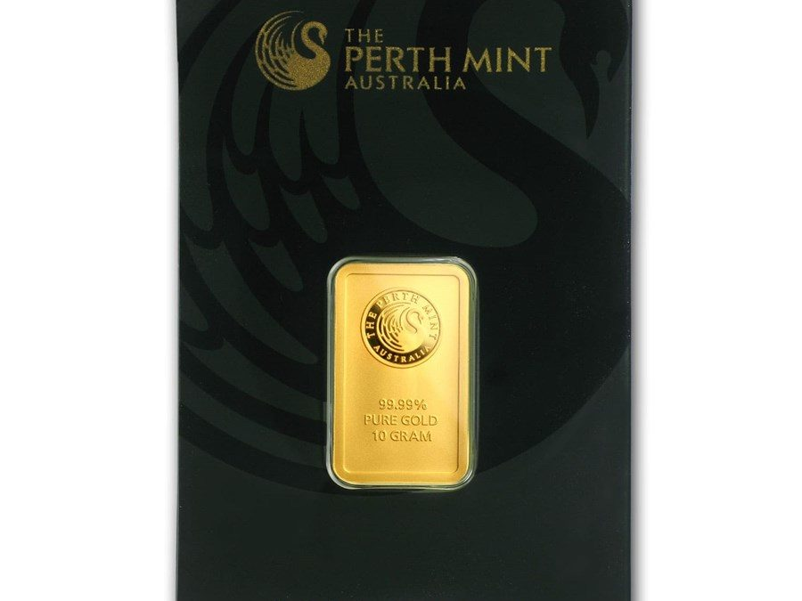 10 gram Gold Bar – The Perth Mint (In Assay)