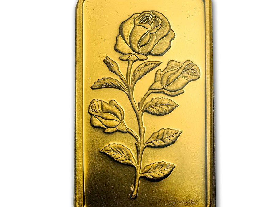 100 gram Gold Bar – PAMP Suisse Rosa (In Assay)