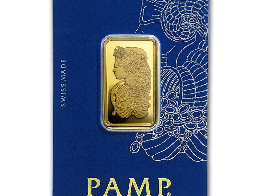 20 gram Gold Bar – PAMP Suisse Fortuna Veriscan® (In Assay…