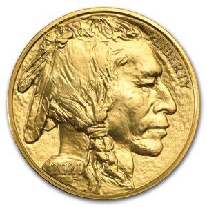 2020 1 oz Gold Buffalo BU