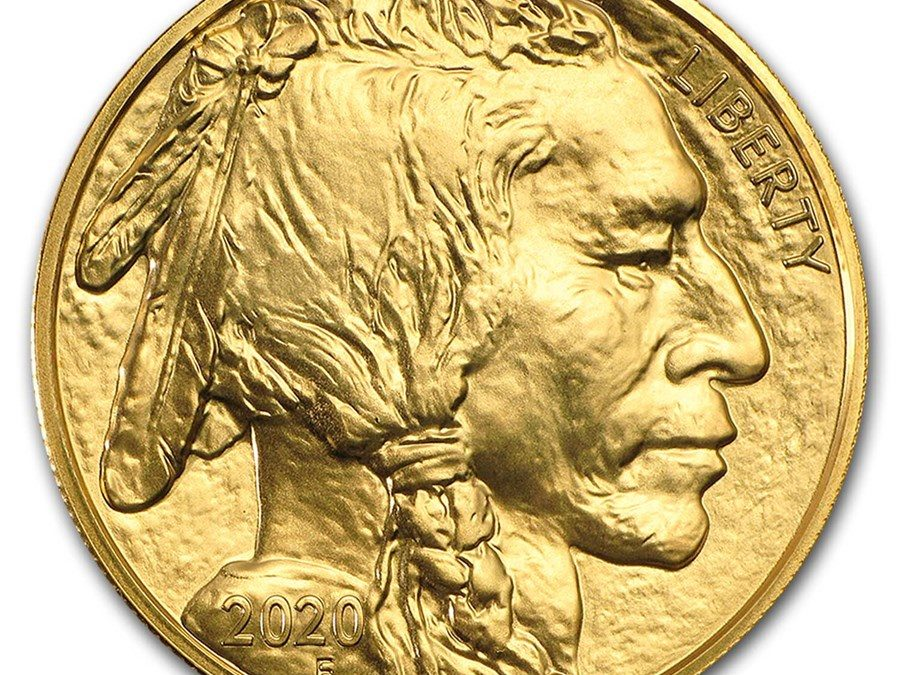 2020 1 oz Gold Buffalo BU