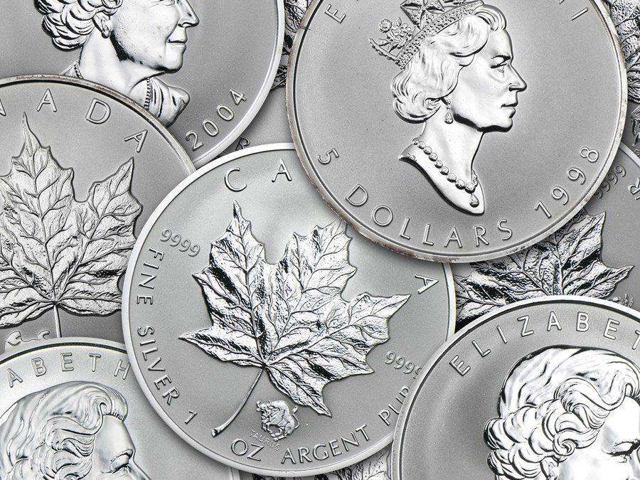 Canada 1 oz Silver Maple Leaf Privy Mark Coins (Random)