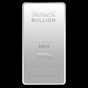 1 Kilo Coin Bar | Silver | StoneX(Front)