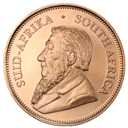Krugerrand, 1oz Gold, mixed years(Back)